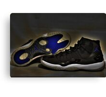 Nike Air Jordan XI Retro Space Jam  Canvas Print