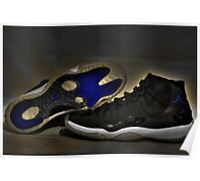 Nike Air Jordan XI Retro Space Jam  Poster