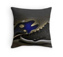 Nike Air Jordan XI Retro Space Jam  Throw Pillow
