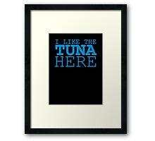 Tuna Framed Print