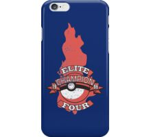 Elite Four Champion Flame iPhone Case/Skin