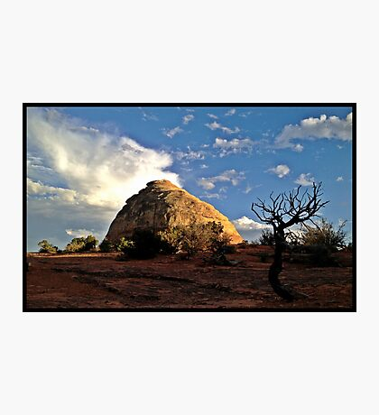 Liberty Cap Perspective at Sunset  Photographic Print