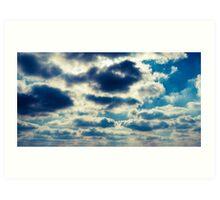 Lake Michigan Sky Art Print