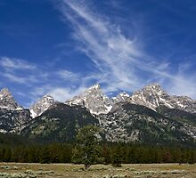 The Grand Teton Range by Jon Rista