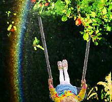 Apple Tree Swing by Aerhona