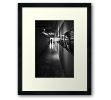 At the Exhibition - Montpellier, France - 2010 Framed Print