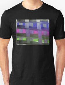 Abstract Plaid  Unisex T-Shirt