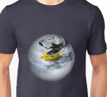 Kayaking the Sphere! Unisex T-Shirt