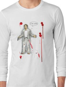 "Norman Stansfield (""Léon"") - I'm calm Long Sleeve T-Shirt"
