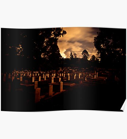 Toowong Cemetary Poster