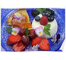 Fruity Like A Summer Sunday Poster