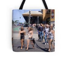 Summer in the city of Melbourne Tote Bag