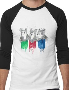 Wolf Brothers Men's Baseball ¾ T-Shirt