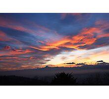 Sunset show Photographic Print