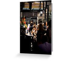 Cafe Culture in Melbourne Greeting Card