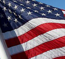 Stars and Stripes Up Close (USA) by BGpix
