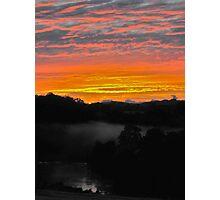 Sunrise - Manning River, Karaak Flat.  Photographic Print