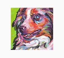Australian shepherd Aussie Bright colorful Pop Art T-Shirt