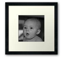 mz mia b&w Framed Print