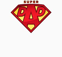 "Happy Father's Day celebrations concept ""SUPERDAD"" logo Unisex T-Shirt"