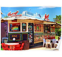 Harry's Diner. Poster