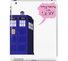 Sexy Tardis iPad Case/Skin