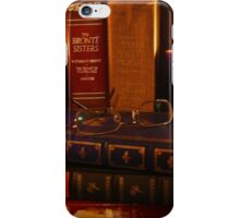 Books and Wine by Candlelight iPhone Case/Skin