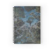 Willow-o'-the-wisp Spiral Notebook