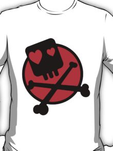 Funny skull and bones T-Shirt