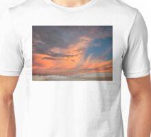 Pastels Brilliant White Sunset Unisex T-Shirt
