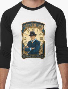 Inspector Spacetime Nouveau (II) Men's Baseball ¾ T-Shirt