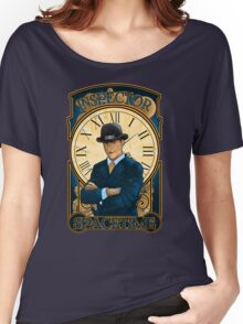 Inspector Spacetime Nouveau (II) Women's Relaxed Fit T-Shirt