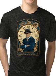 Inspector Spacetime Nouveau (II) Tri-blend T-Shirt
