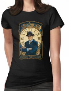 Inspector Spacetime Nouveau (II) Womens Fitted T-Shirt