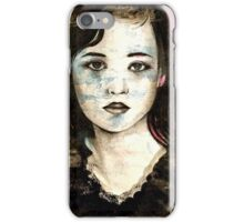 She was once a girl iPhone Case/Skin