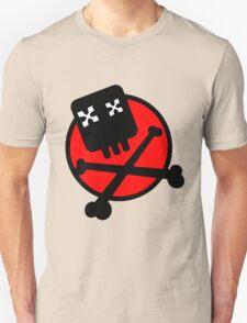 Funny skull and bones Unisex T-Shirt