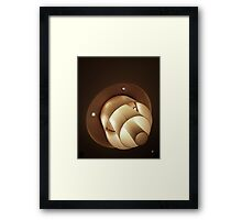 Two sets of three Framed Print