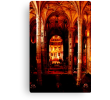 Magestic hall Canvas Print