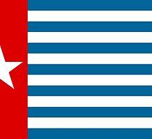 Flag of Free Papua Movement  by abbeyz71