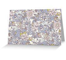 The Garden Party - jasmine tea version Greeting Card