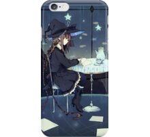 This is the Story of a Great Blue Witch. iPhone Case/Skin
