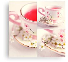 Tea Time II Canvas Print