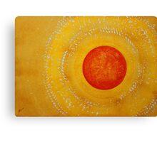 Autumn Sun original painting Canvas Print