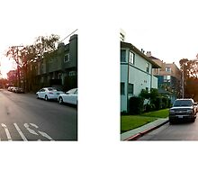 Camden Avenue + Massachusetts Avenue, Westwood, Los Angeles, California, USA...narrowed. by David Yoon