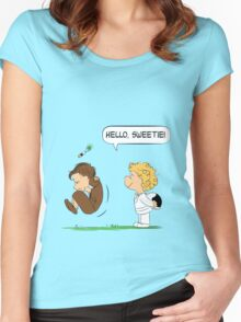 Hello, Sweetie Women's Fitted Scoop T-Shirt