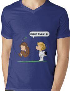 Hello, Sweetie Mens V-Neck T-Shirt