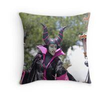 Maleficent Throw Pillow