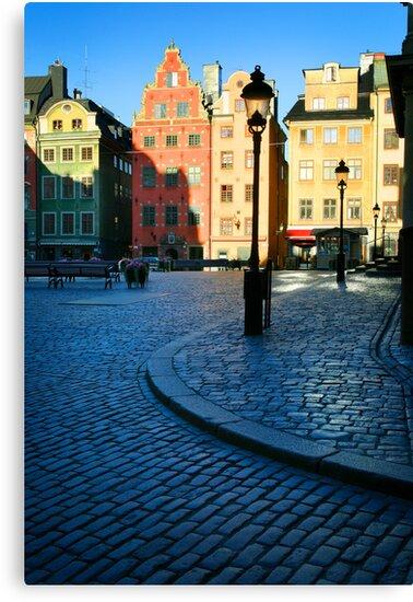 Stockholm Stortorget Square by Inge Johnsson