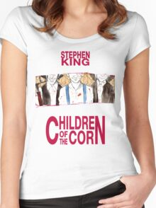Children of the corn Women's Fitted Scoop T-Shirt