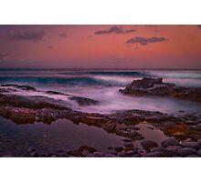 Dusky colours - Noosa National Park Photographic Print